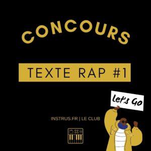 Concours Texte de Rap #1